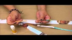 paper beads tutorial - YouTube