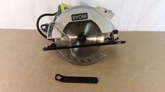 "Ryobi CSB135L 7-1/4"" 14 Amp circular saw with laser, Tools, Home 12272016.23 #Ryobi"