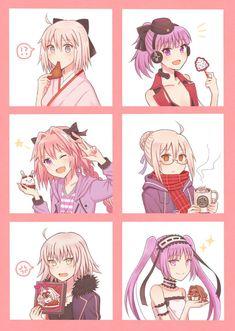 Fate Grand order That's a lot of girls? Astolfo Fate, Fate Zero, One Punch Anime, Arturia Pendragon, Anime Traps, Fate Servants, Fate Anime Series, Manga Artist, Fate Stay Night