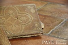 St. Tropez French Terra Cotta Tile Flooring