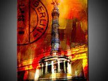 Berlin Siegessäule Kunstdruck