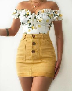 Teen Fashion Outfits, Girly Outfits, Cute Casual Outfits, Skirt Outfits, Cute Fashion, Look Fashion, Pretty Outfits, Stylish Outfits, Tween Fashion