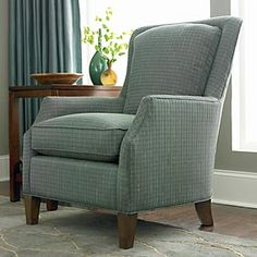 Accent Chair in Teal!  #bassettfurniture