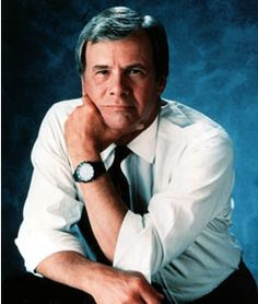 Tom Brokaw, TV journalist, former anchor for NBC Nightly News. Special People, Good People, Pretty People, Beautiful People, Tom Brokaw, Male Icon, Newscaster, Nbc Nightly News, People Of Interest