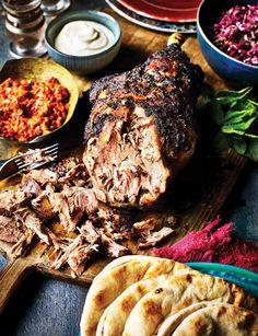 This lamb shawarma recipe makes a great alternative to traditional roast lamb. Lamb Recipes, Cooking Recipes, Healthy Recipes, Healthy Food, Smoker Recipes, Thai Recipes, Lebanese Recipes, Indian Food Recipes, Kitchens