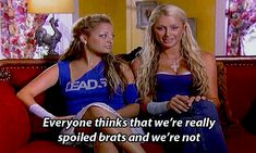 """Paris and Nicole are just two normal girls. The 25 Most Important Things We Learned From """"The Simple Life"""" Paris Hilton Quotes, Princess Paris, Paris And Nicole, Simple Life Quotes, Early 2000s Fashion, I Don T Love, Bad Girls Club, Funny Reaction Pictures, Aesthetic Grunge"""