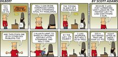 Dilbert does Privacy (lack of) - Dilbert by Scott Adams