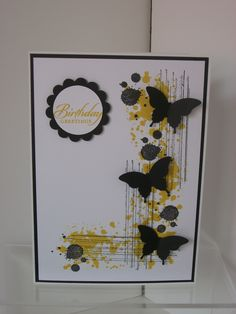 Gorgeous grunge and elegant butterfly punch