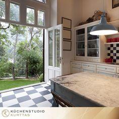 Trend  K che in Schwarz Wei Eckk che dyk kuechen de K chen in Schwarz Wei Pinterest Kitchens