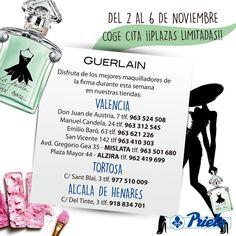 Apúntante a las promociones de Guerlain en Perfumeria Prieto.