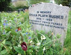Sylvia Plath, St Thomas Churchyard, Heptonstall, West Yorkshire, England