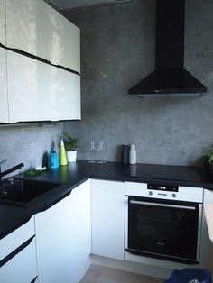 Uusimaa, Kitchen renovation 2014 by Kati Kumpulainen, Ihannetila. Kitchen Stories, Kitchen Cabinets, Inspiration, Kitchens, Home Decor, Google Search, Decoration, Blog, Ideas