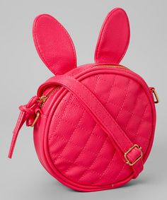 Look at this Pink Bunny Purse on #zulily today!