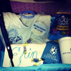 Alpha Xi Delta basket for little!