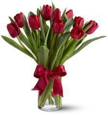 Radiant Tulips Available at Peoples Flower Shops, Albuquerque, NM.
