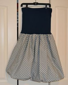 Sewing Our Life Together: DIY Maternity Friendly Bubble Skirt