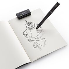 not really for ipad, but this gadget records all of the users drawings
