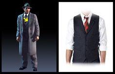 Brooks Brothers Charcoal Twill Vest