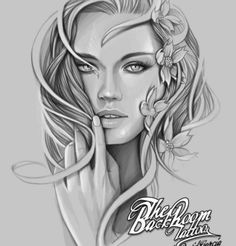 Online digital art gallery of best pictures and photos from portfolios of digital artists. Manually processing and aggregation artworks into the thematic digital art galleries. Chicanas Tattoo, Tatoo Art, Body Art Tattoos, Sleeve Tattoos, Tattoo Sketches, Drawing Sketches, Art Drawings, Dibujos Tattoo, Desenho Tattoo