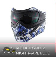 Paintball Mask, VFORCE GRILLZ