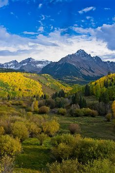 Mount Sneffels Under Autumn Sky Photograph by Greg Nyquist
