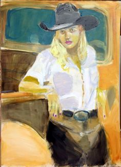 Cowgirls and horses, may event