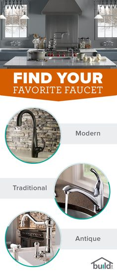 There's so much to consider when shopping for a new faucet. Let Build.com show you the latest trends, options, brands and everything else to consider when finding your new fixture.
