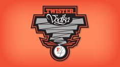 Twister Vodka Logo..... I'm excited to try an Oklahoma made vodka!