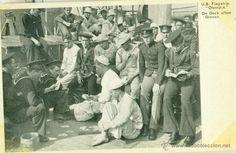 FILIPINAS. GUERRA HISPANOAMERICANA. BUQUE OLYMPIA. COMODORO DEWEY. BATALLA NAVAL DE CAVITE. 1898.
