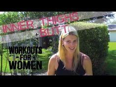 Inner Thighs & Butt Workout For Women