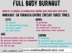 full body workout when I'm too lazy to gym it
