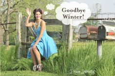 Goodbye winter..