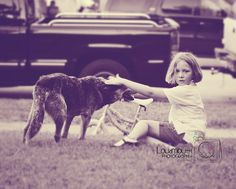 Saying bye to a childhood pet. Priceless memories.