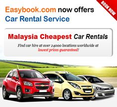 New Car Rental Service available in Malaysia. Clean, safe, and freedom to drive wherever your heart may lead you!