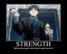 Fullmetal Alchemist: Brotherhood. Roy Mustang, Riza Hawkeye