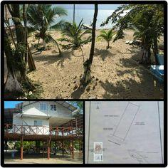 PUNTA DE MANANIQUE VENDO Terreno con casa enpropiedad con 3,000 M2 / 4,293.45 V2 ubicado en Estero Lagarto Punta de Manabique Pto. Barrios 30 x 100 los 30 son de playa Q.950,000.00  Información   ArkDeko Consulting Group.