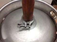 Build a Keg Still for Whiskey (Pot Still Design) : 12 Steps - Instructables Homemade Alcohol, Homemade Liquor, Scotch Whiskey, Irish Whiskey, Reflux Still, Whiskey Still, Bakers Yeast, Hard Apple Cider, Moonshine Still