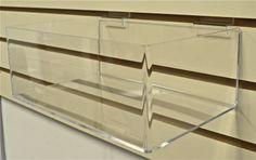 Premium Acrylic Slatwall Bin