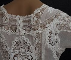antique wedding dress