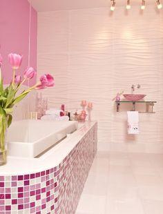 baño rosa - Buscar con Google
