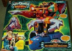 Amazon.com: Deluxe Isis Command Megazord Power Rangers Wild Force Electronic Action Figure: Toys & Games