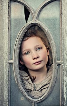 {A face at the window}
