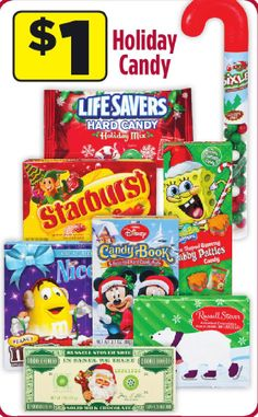 Lifesavers Candy Coupon! Just $0.50 Cents a Bag at Dollar General!