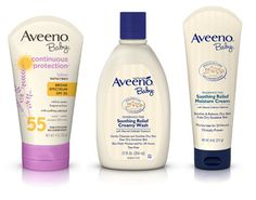 Giveaway! AVEENO® Baby Summer Skin Solutions Set from @parentguidenews (Ends 7/22)