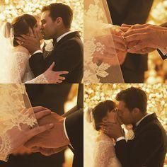 Wedding ❤️❤️❤️ #dakotajohnson #jamiedornan #fiftyshadesfreed