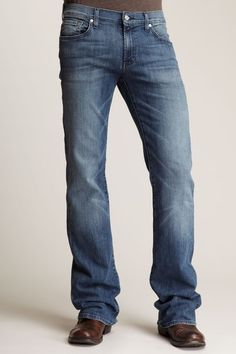 7 For All Mankind Mens Bootcut Jean