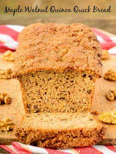 Maple Walnut Quinoa Quick Bread   Magnolia Days