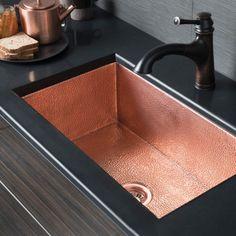 copper kitchen sinks big sink native trails cpk94 farmhouse 27 single basin cocina 30 in polished cpk493