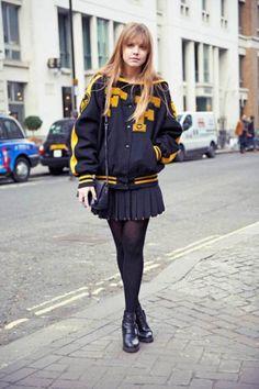 Varsity Street Style http://blog.mjtrim.com/
