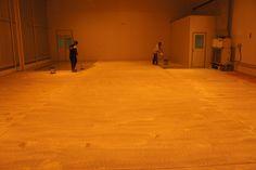 Pintura Industrial, recuperação e aplicação de tinta epóxi em laboratório.